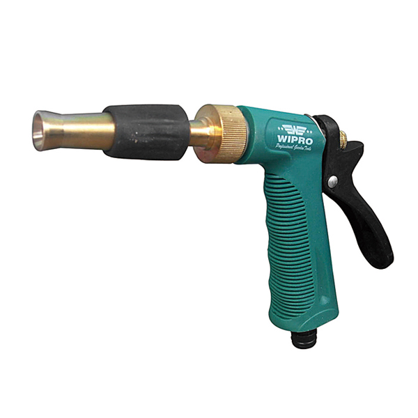 Zinc alloy spray nozzle w adjustable brass tip wipro